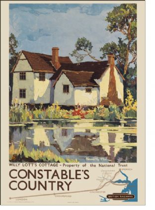 Constable's Country - Willy Lott's Cottage, Suffolk
